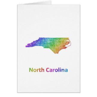 Carte La Caroline du Nord