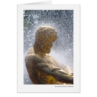 Carte La cascade grande chez Peterhof