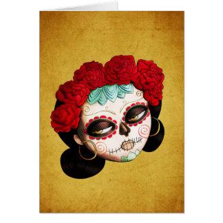 Carte La Catrina - Dia de Los Muertos Girl