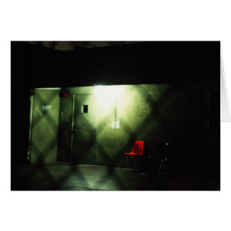 Carte La chaise rouge
