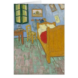 Carte La chambre à coucher de Vincent dans Arles