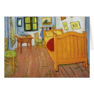 Carte La chambre à coucher de Vincent dans Arles par Van