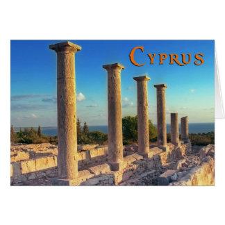 Carte La Chypre