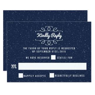 Carte La collection de mariage de nuit étoilée - RSVP