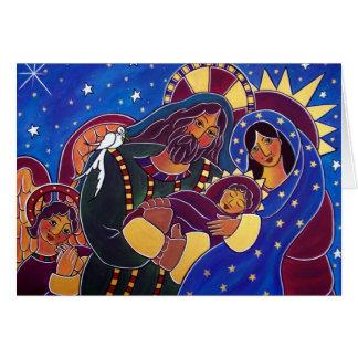 Carte La famille sainte avant janvier Oliver