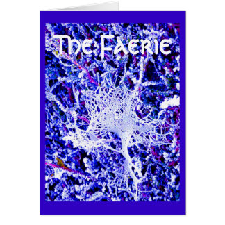 Carte La féerie - toile d'araignée