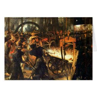 Carte La fonderie - Adolph Von Menzel