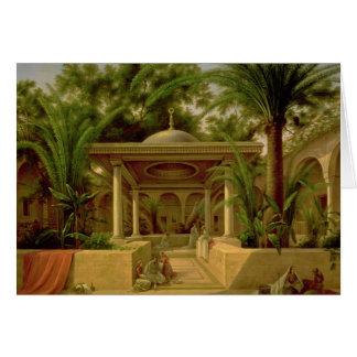 Carte La fontaine de Khabanija, le Caire, 1845