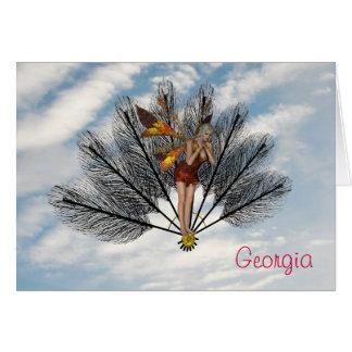 Carte La Géorgie