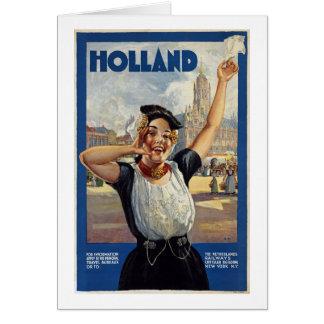 Carte La Hollande