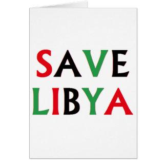 Carte La Libye - économies Libye