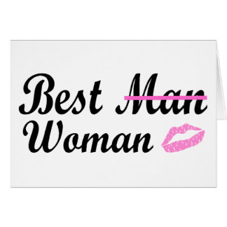 Carte La meilleure femme d'homme
