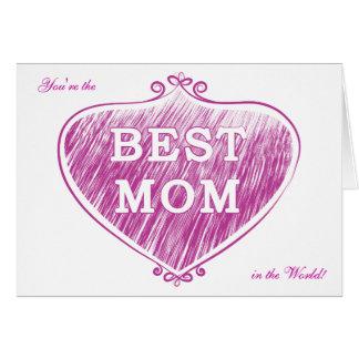 Carte La meilleure maman