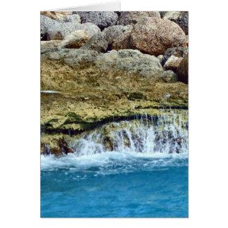 Carte La mer lavée bascule Vert.