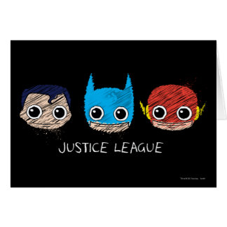 Carte La mini ligue de justice dirige le croquis