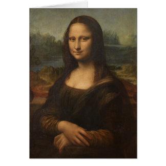 Carte La Mona Lisa par Leonardo da Vinci