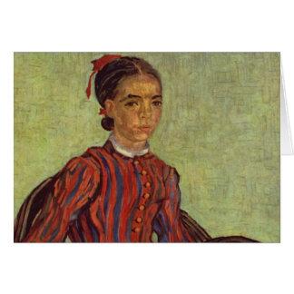 Carte La Mousme - Vincent van Gogh