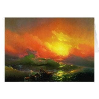 Carte La neuvième vague par Ivan Aivazovsky