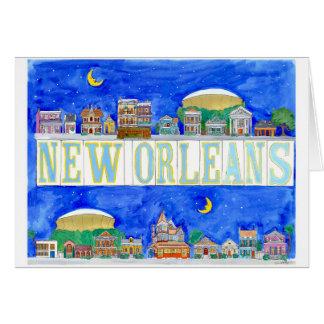 Carte La Nouvelle-Orléans
