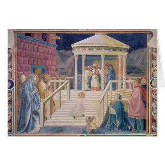 Carte La présentation de Vierge Marie béni