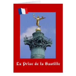 Carte La Prise de la Bastille