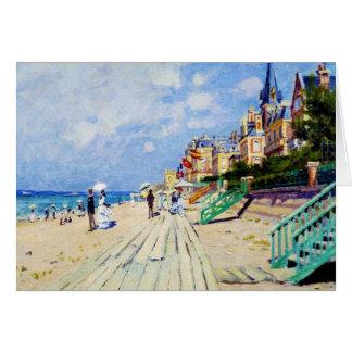 Carte La promenade chez Trouville Claude Monet
