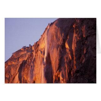 Carte La queue de cheval tombe parc national de Yosemite