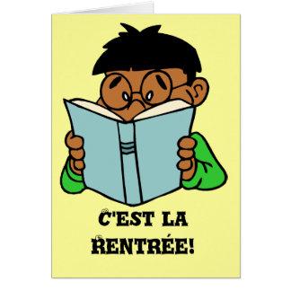Carte La Rentree, occasion de C'est de Bonne
