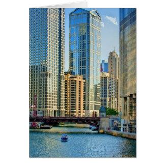 CARTE LA RIVIÈRE CHICAGO