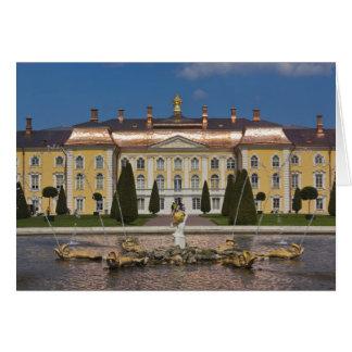 Carte La Russie, St Petersbourg, Peterhof, palais grand
