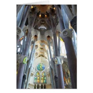Carte La Sagrada Familia