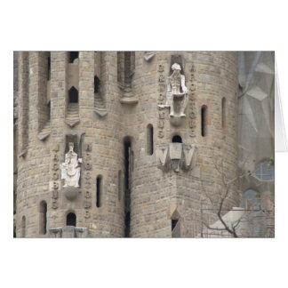 Carte La Sagrada Família, Barcelone