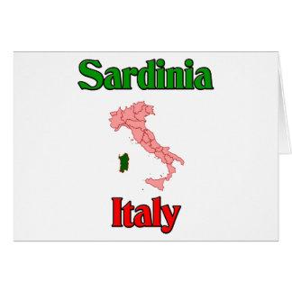 Carte La Sardaigne Italie