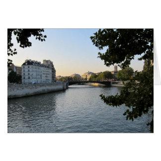 Carte La Seine