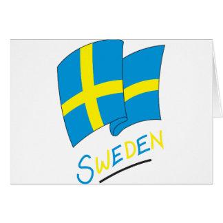 Carte La Suède