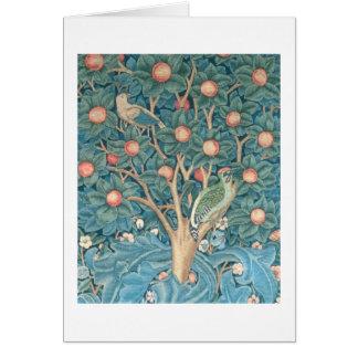Carte La tapisserie de pivert, détail des piverts