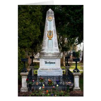 Carte La tombe de Ludwig van Beethoven