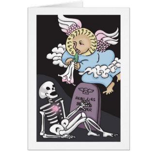 Carte La trompette de l'ange