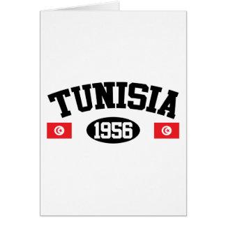Carte La Tunisie 1956