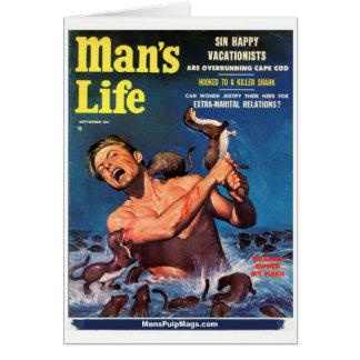 Carte La vie de l'homme, septembre 1956 - les belettes