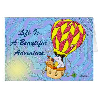 Carte La vie est une belle aventure