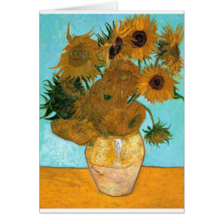 Carte La vie toujours : Tournesols - Vincent van Gogh