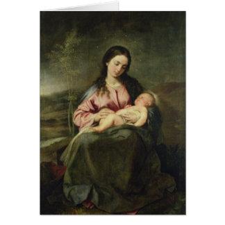 Carte La Vierge et l'enfant
