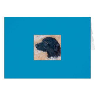 Carte Labrador noir
