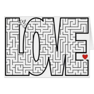Carte Labyrinthe d'amour