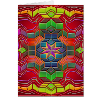 Carte labyrinthe d'esprit