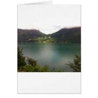 Carte Lac norvégien