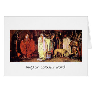Carte L'adieu de Cordelia
