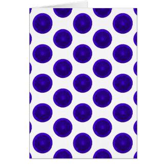 Carte L'agrume bleu découpe le pois en tranches