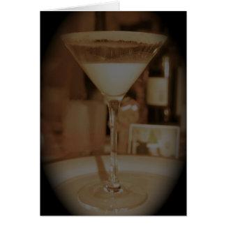 Carte Lait de poule Martini